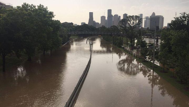 Heftige Regenfälle: Flutkatastrophe in Texas