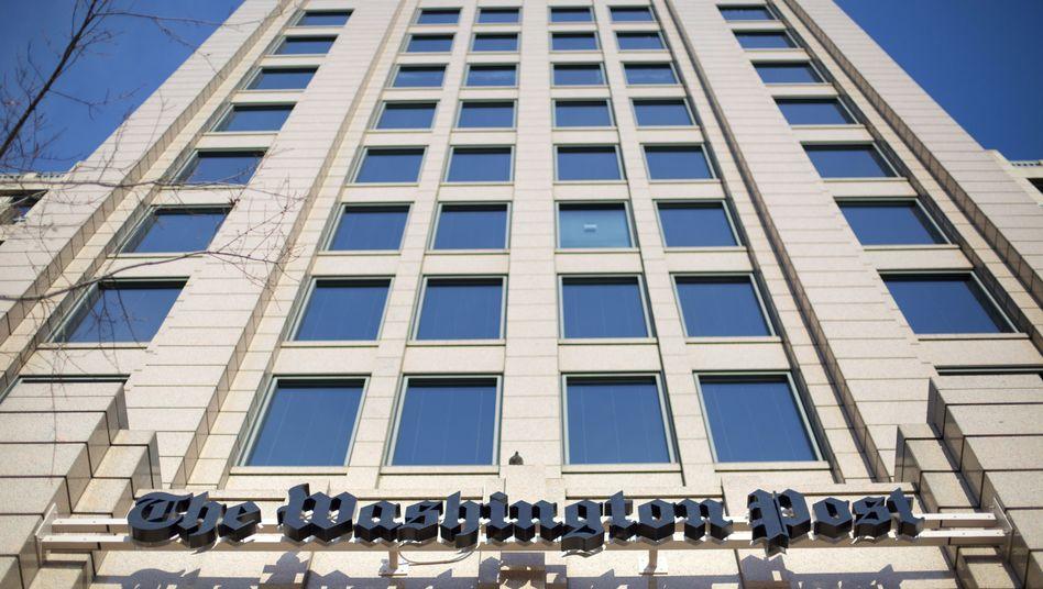 """Gebäude der """"Washington Post"""": Trumps Wahlkampfteam klagt gegen zwei Meinungsbeiträge"""
