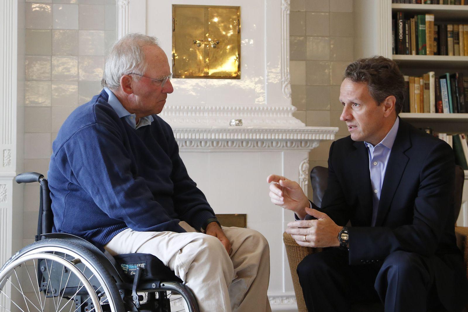 NICHT VERWENDEN Schäuble / Geithner