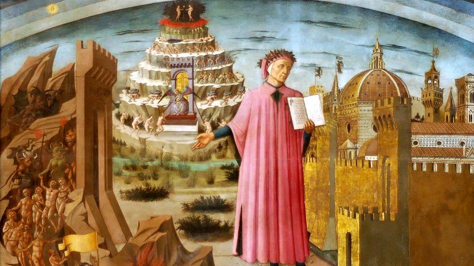 """Illustration von Dantes """"Göttlicher Komödie"""""""