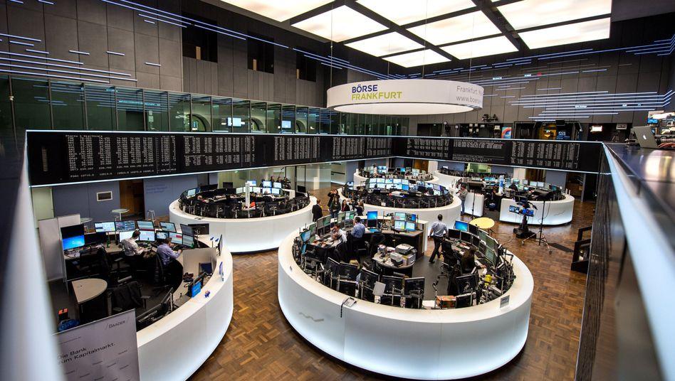 Börse in Frankfurt: China reißt die Aktienmärkte weltweit mit