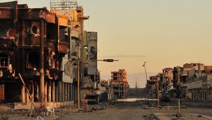 Letztes Gefecht in Sirt: BND kannte Gaddafis Versteck