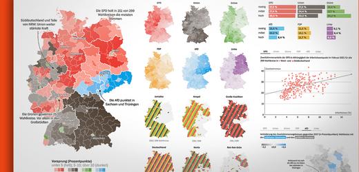 Bundestagswahl in Karten und Grafiken: Das Ende der schwarzen Republik