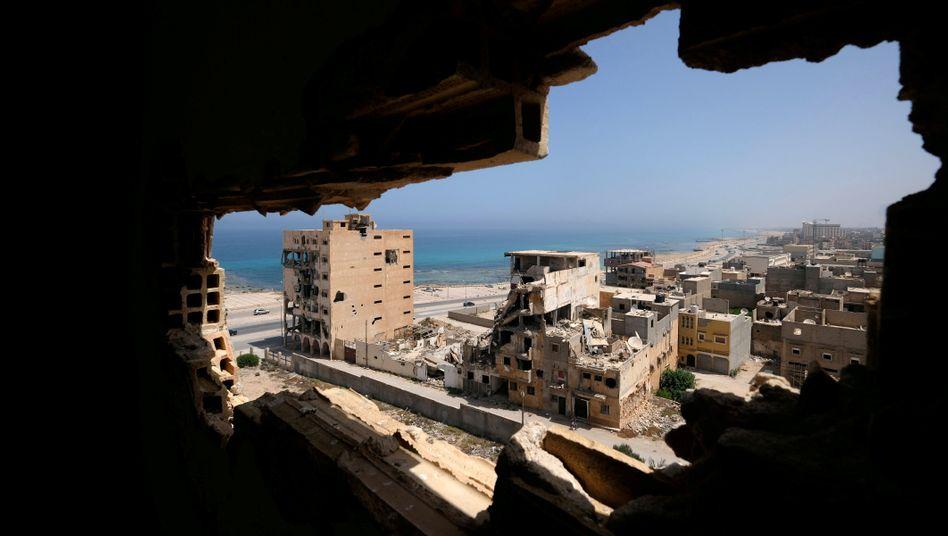 Bengasi: Die Stadt im Osten Libyens sollte offenbar als Basis der Geheimmission dienen