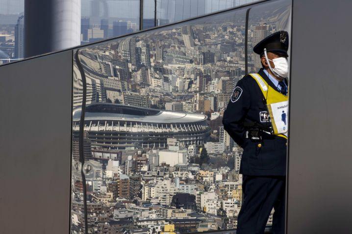 Abgeschottet: Die Wettbewerbe sollen zum Teil mitten in Tokio stattfinden, den Sportlerinnen und Sportlern sind Kontakte mit der lokalen Bevölkerung aber weitgehend untersagt