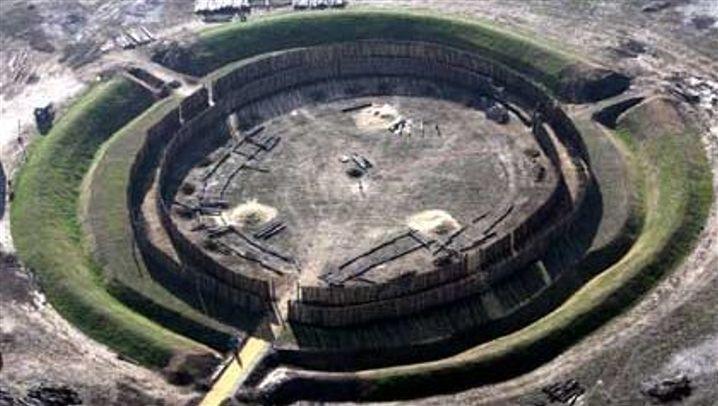 Nachbau: Steinzeit-Observatorium rekonstruiert