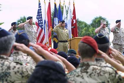 MacDill Air Force Base: Ehrung gefallener Kameraden