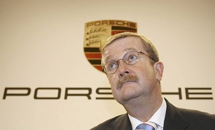 Porsche CEO Wendelin Wiedeking: The brakes have been applied to a man widely considered to be a turbo capitalist.