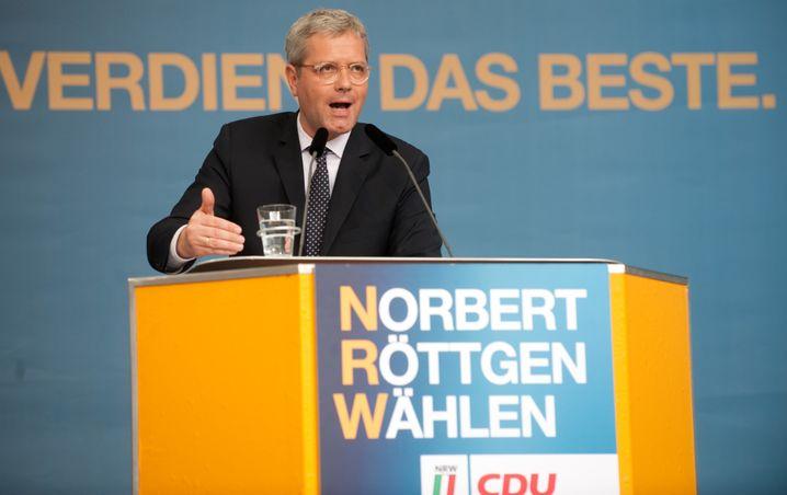 Spitzenkandidat Röttgen: Der CDU-Politiker im NRW-Wahlkampf 2012