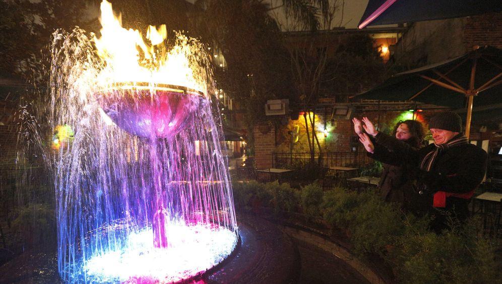 Kältewelle im Süden der USA: Wärme mich, Springbrunnen