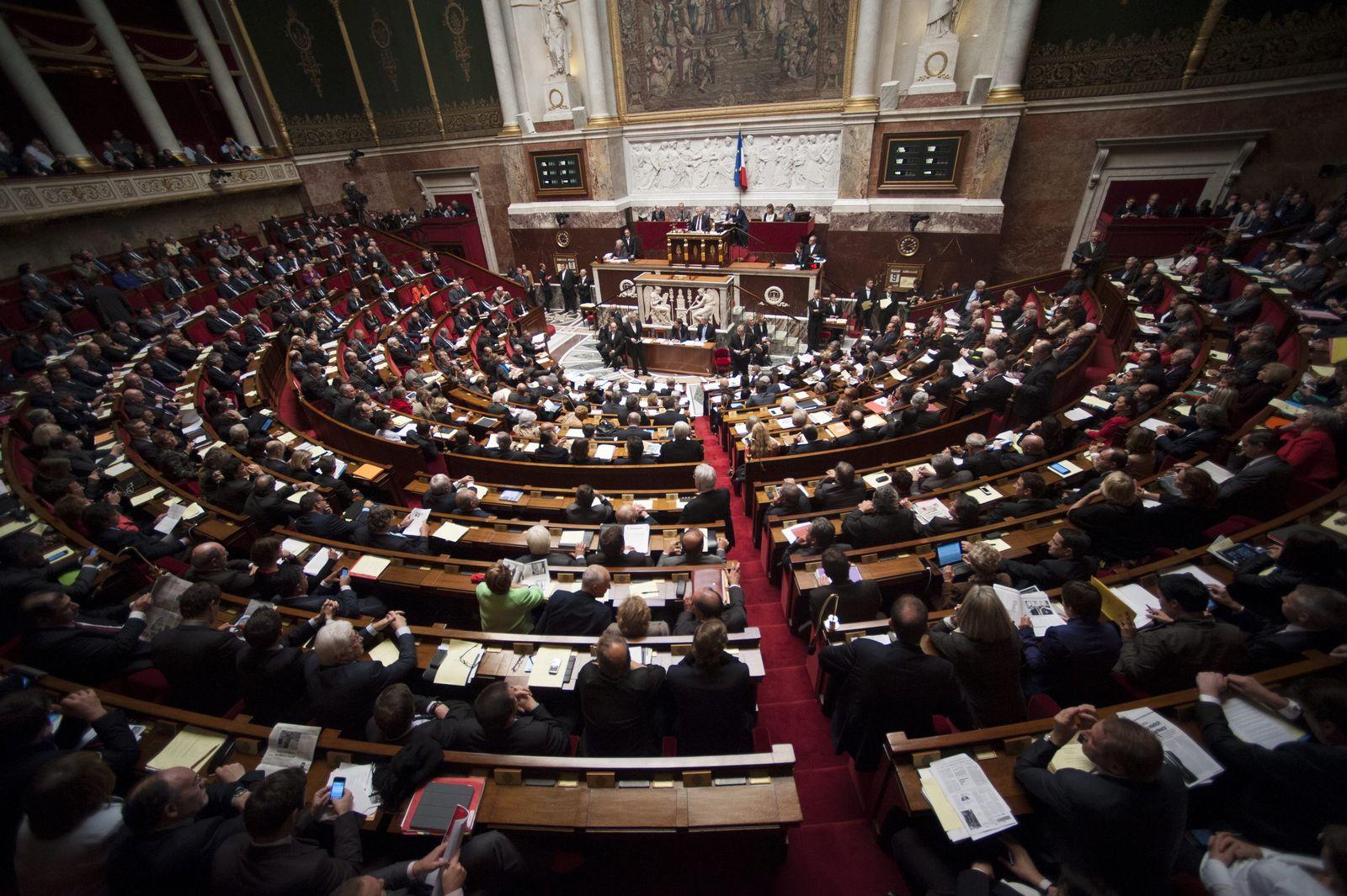Paris / Parlament / Nationalversammlung