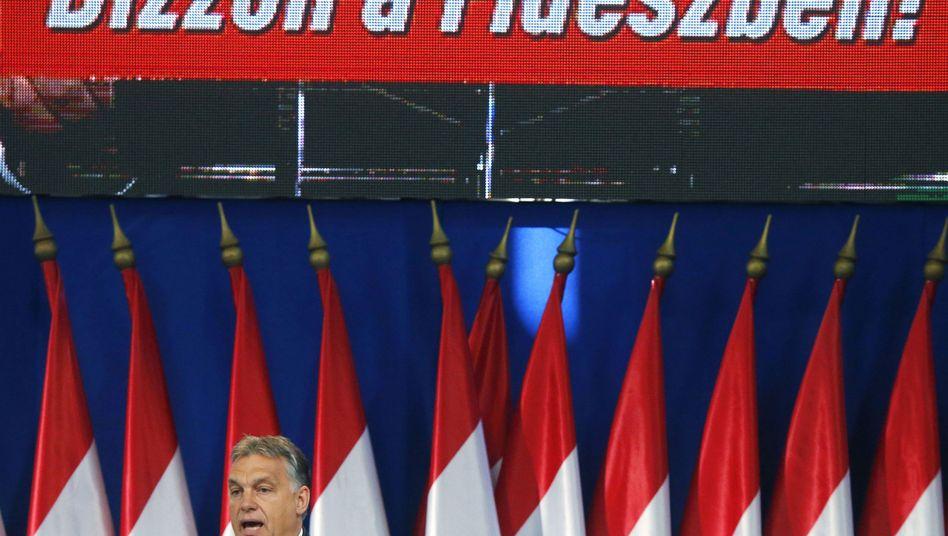 """Ungarns Regierungschef Orbán: """"Wir regieren nicht gegen das Volk"""""""