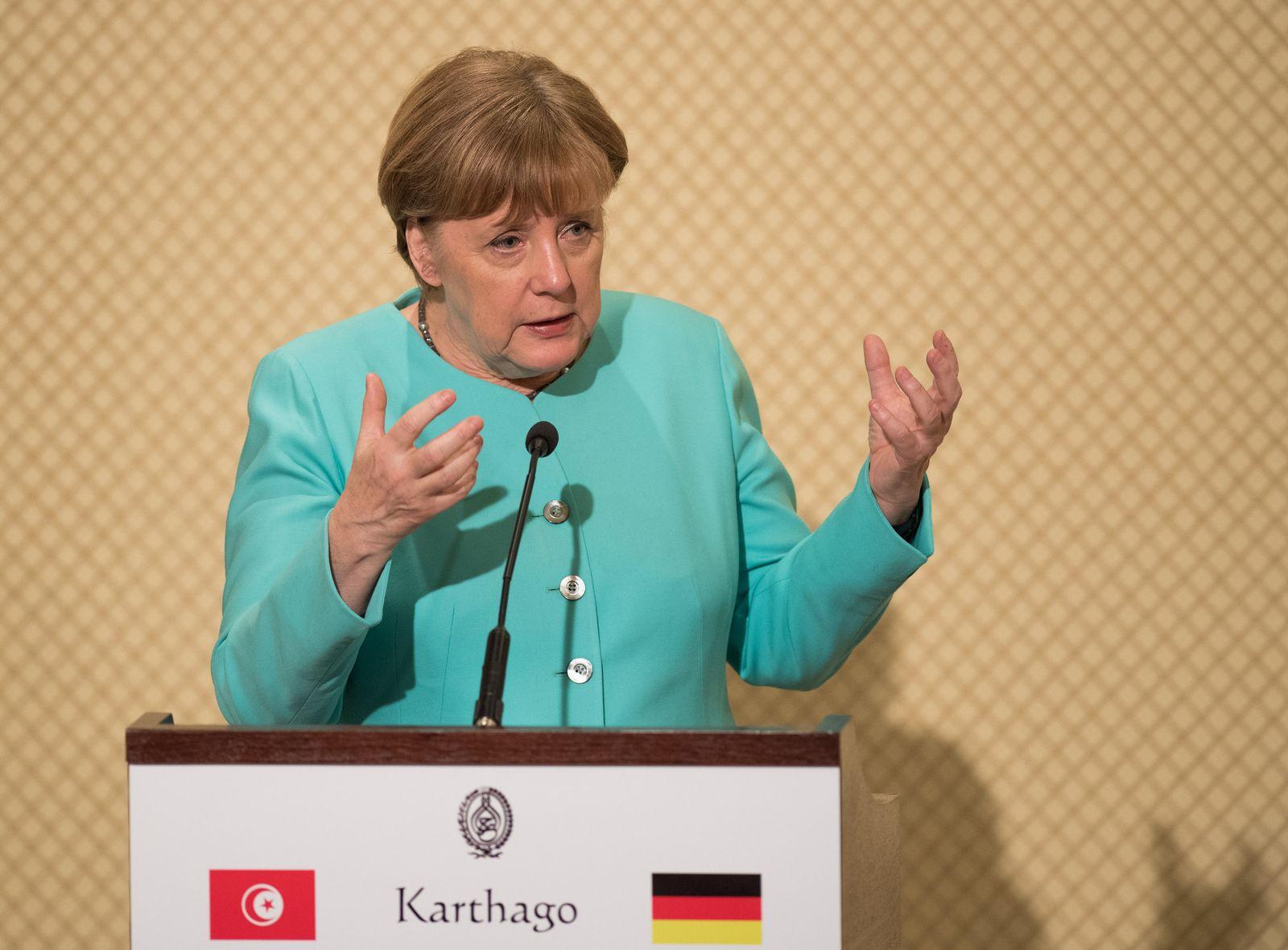 Angela Merkel / Tunesien