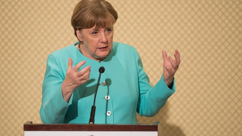 Merkel in Tunis