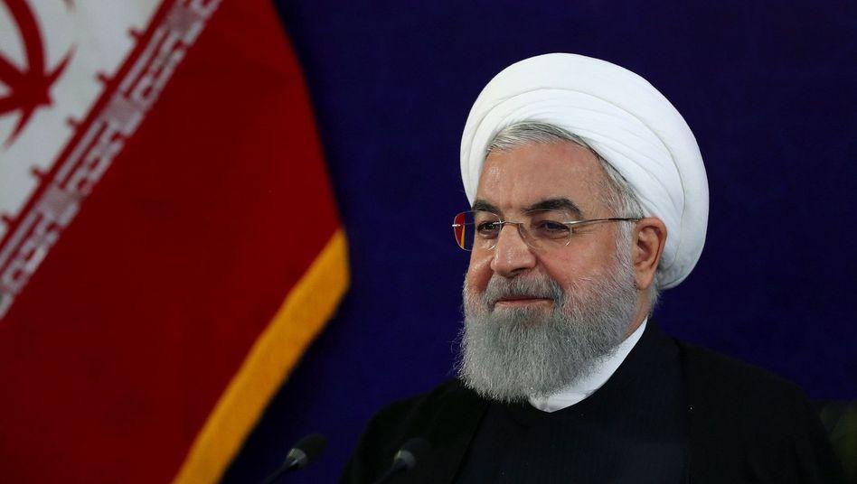 Iranischer Präsident Hassan Rohani