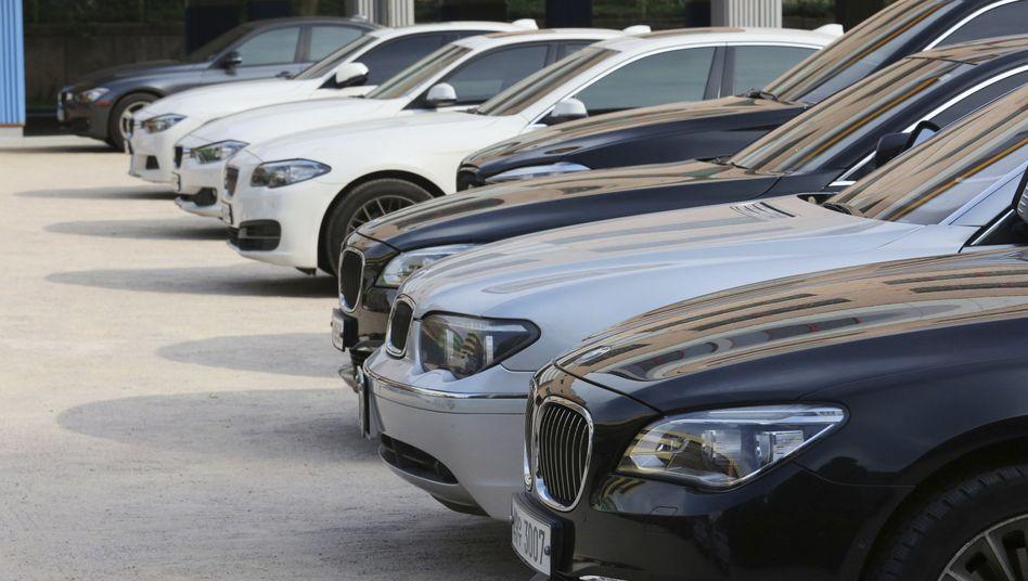 Servicecenter von BMW in Seoul