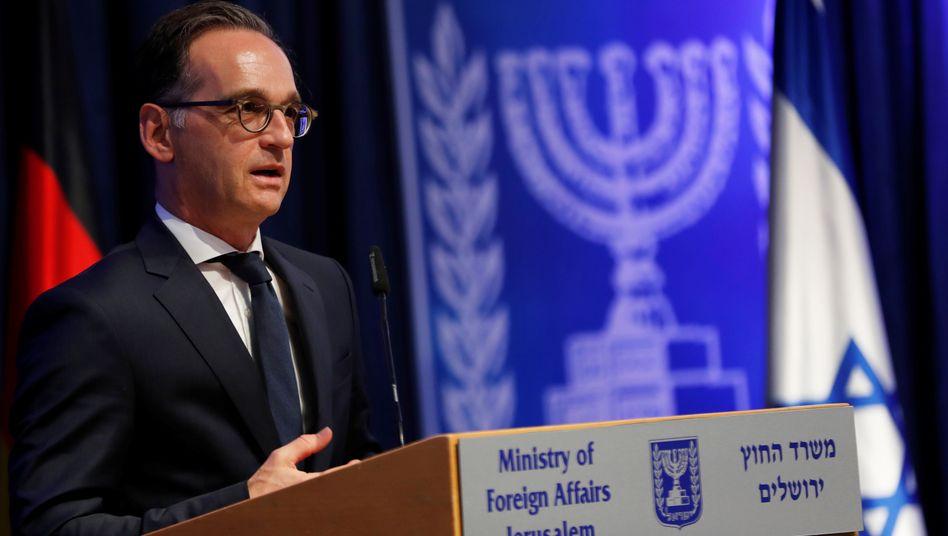 """Außenminister Maas: """"Jetzt ist die Zeit der Diplomatie und des Dialoges"""""""