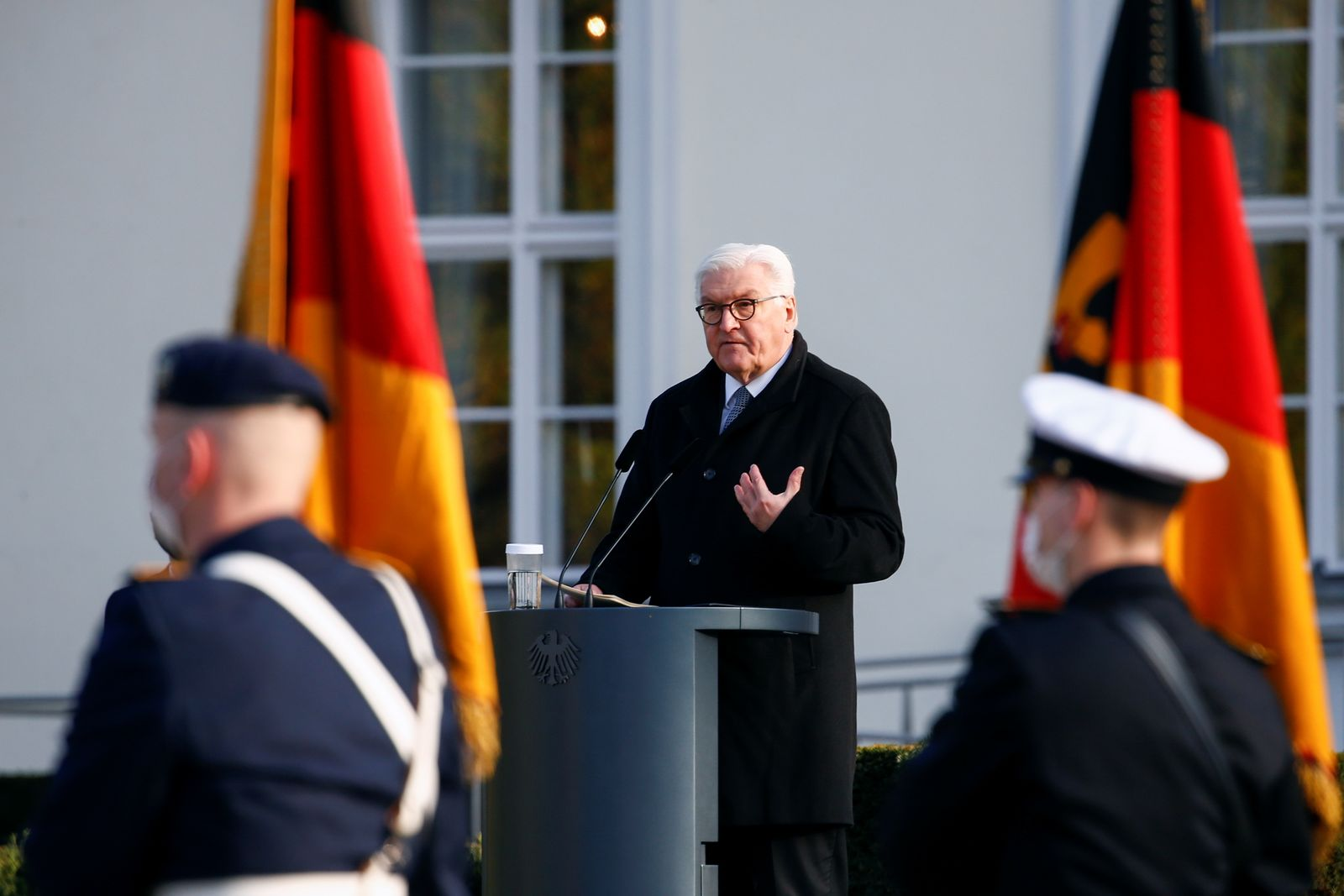 Swearing-in ceremony of German armed forces Bundeswehr soldiers in Berlin