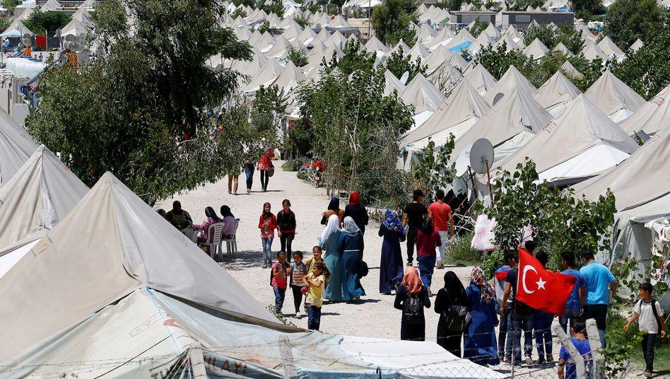 Syrische Flüchtlinge in der Türkei (Archiv)
