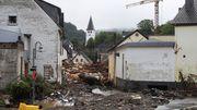 Hauseinstürze in der Eifel – etwa 70 Menschen vermisst