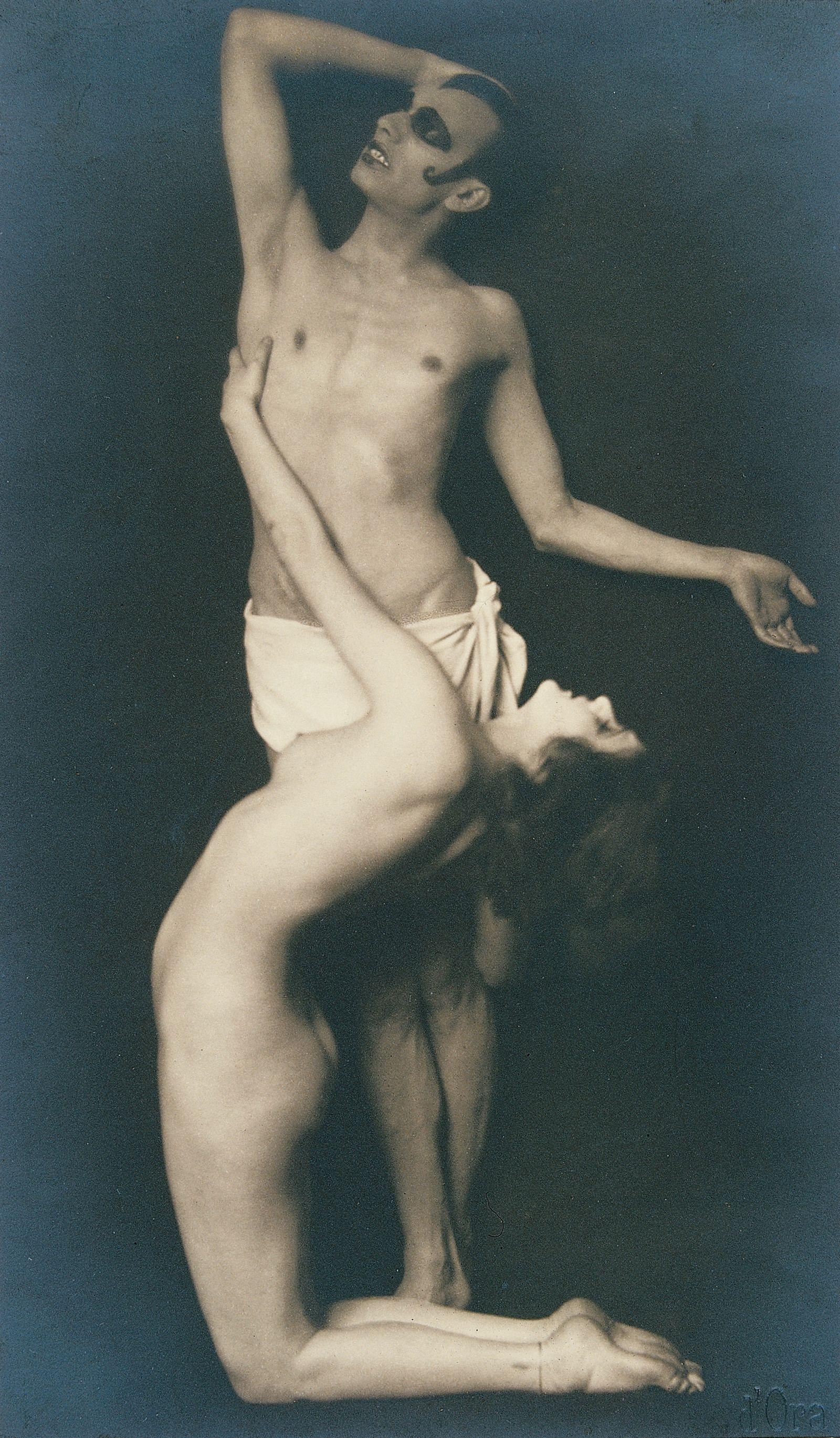 Anita Berber and dancer