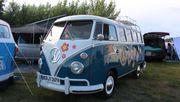 Woodstock mit Wohnmobil