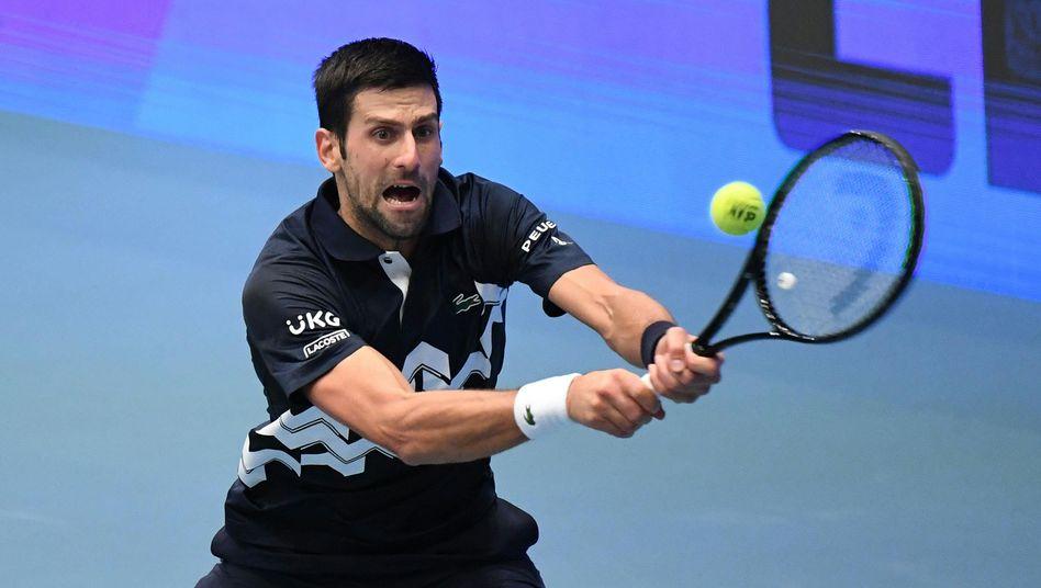 Novak Djokovic: Streben nach Rekorden