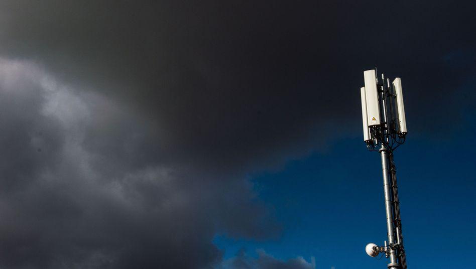 Empfangsinsel im Offline-Meer: Mobilfunkantennen in München