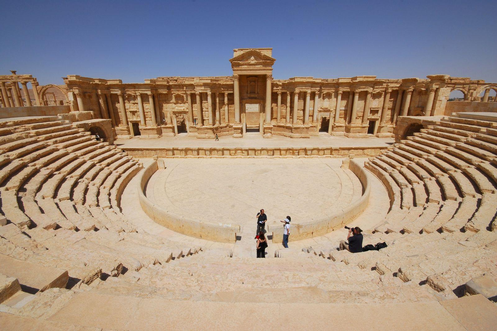 Welterbe Zerstörung durch IS/ Palmyra
