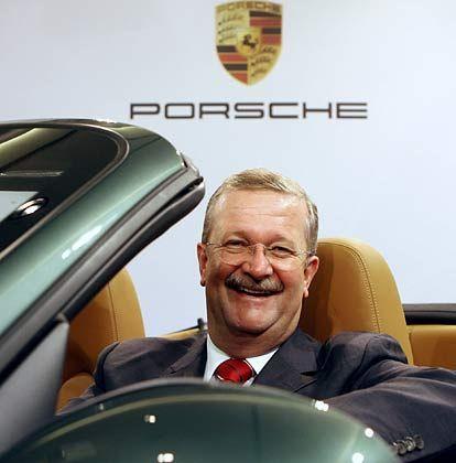 Porsche-Chef Wiedeking: Sein Unternehmen steht vor einem Rekordgewinn - er darf sich auf ein Rekordgehalt freuen