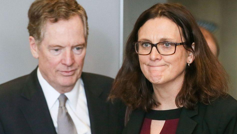 Cecilia Malmström, Robert Lighthizer