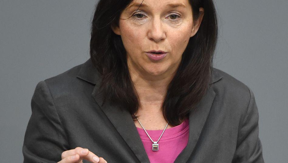 """Grünen-Fraktionschefin Göring-Eckardt: """"Warne Regierung vor Alleingang"""""""