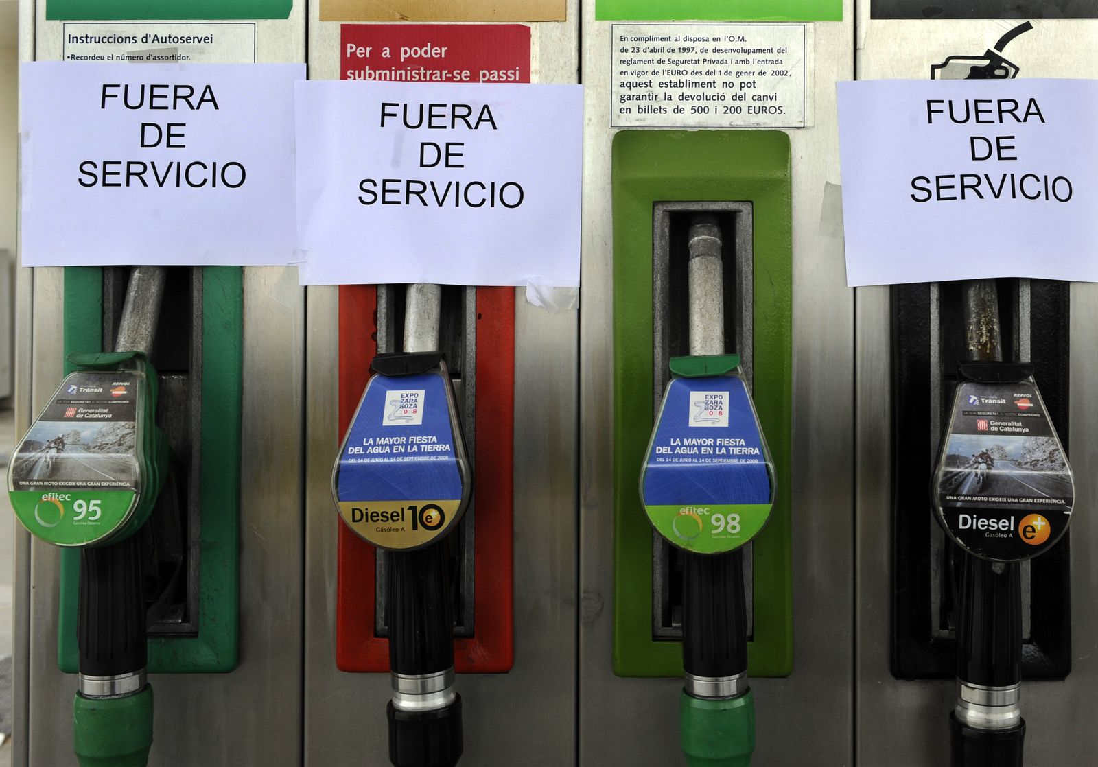 SPAIN-ENERGY-INFLATION-PROTEST-TRANSPORT