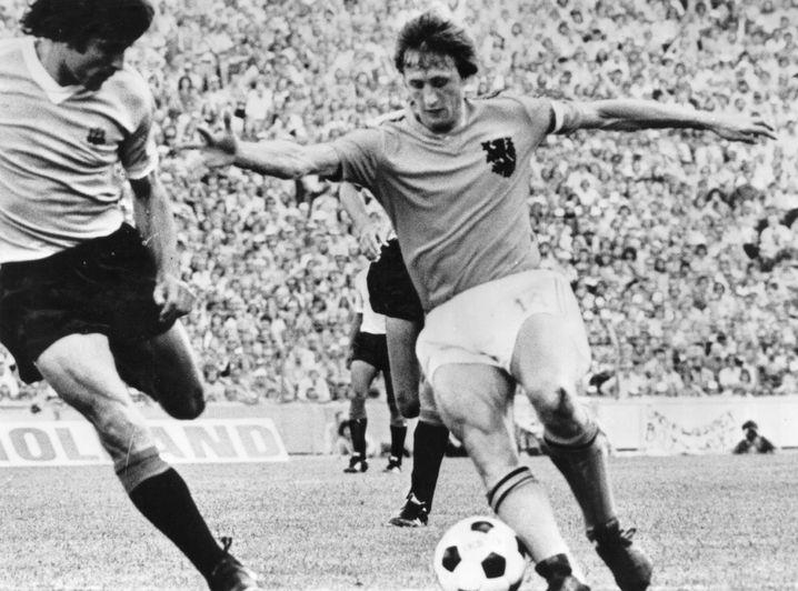 Johan Cruyff bei der WM 1974