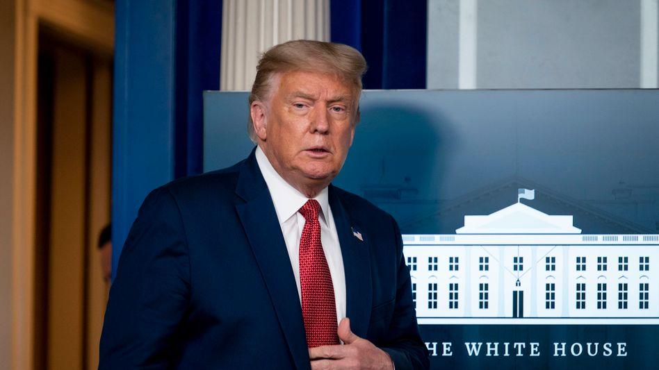 US-Präsident Trump: Keine der Maßnahmen stützt die Wirtschaft nachhaltig