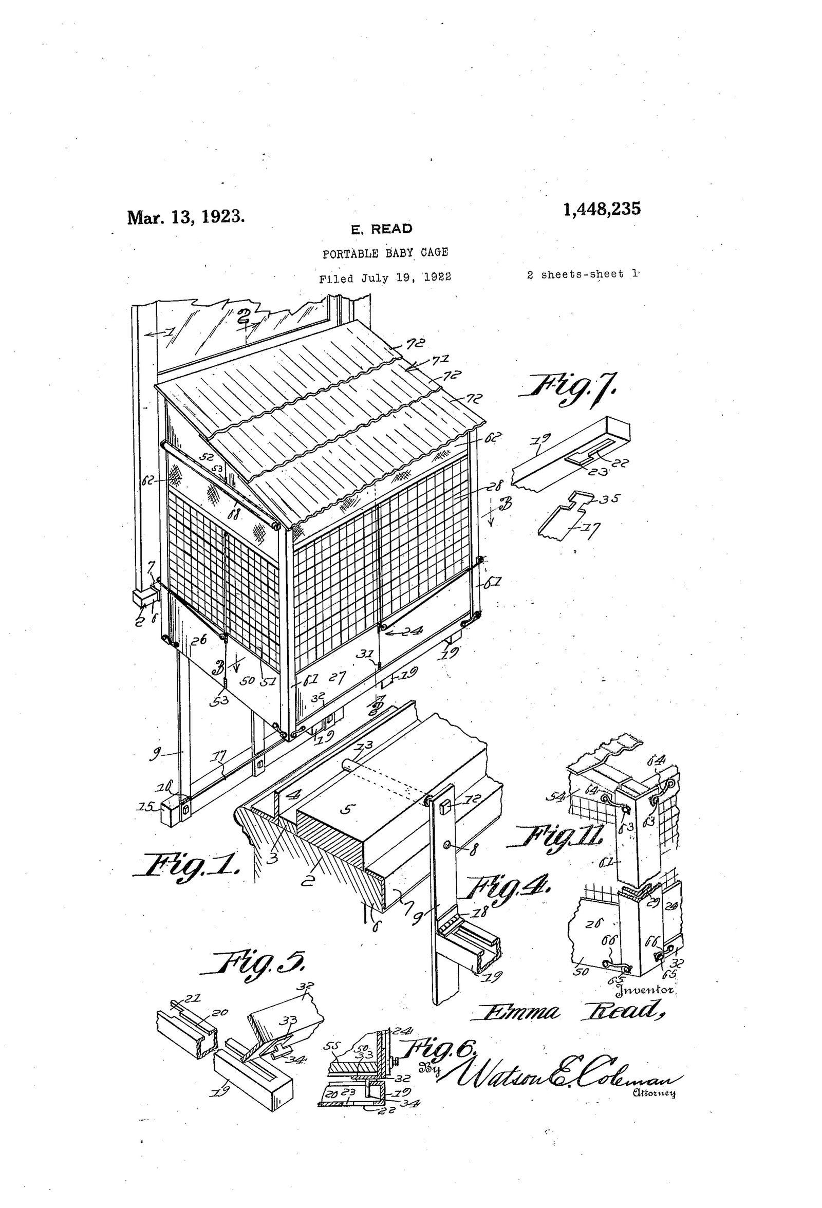 Patent Babykaefige