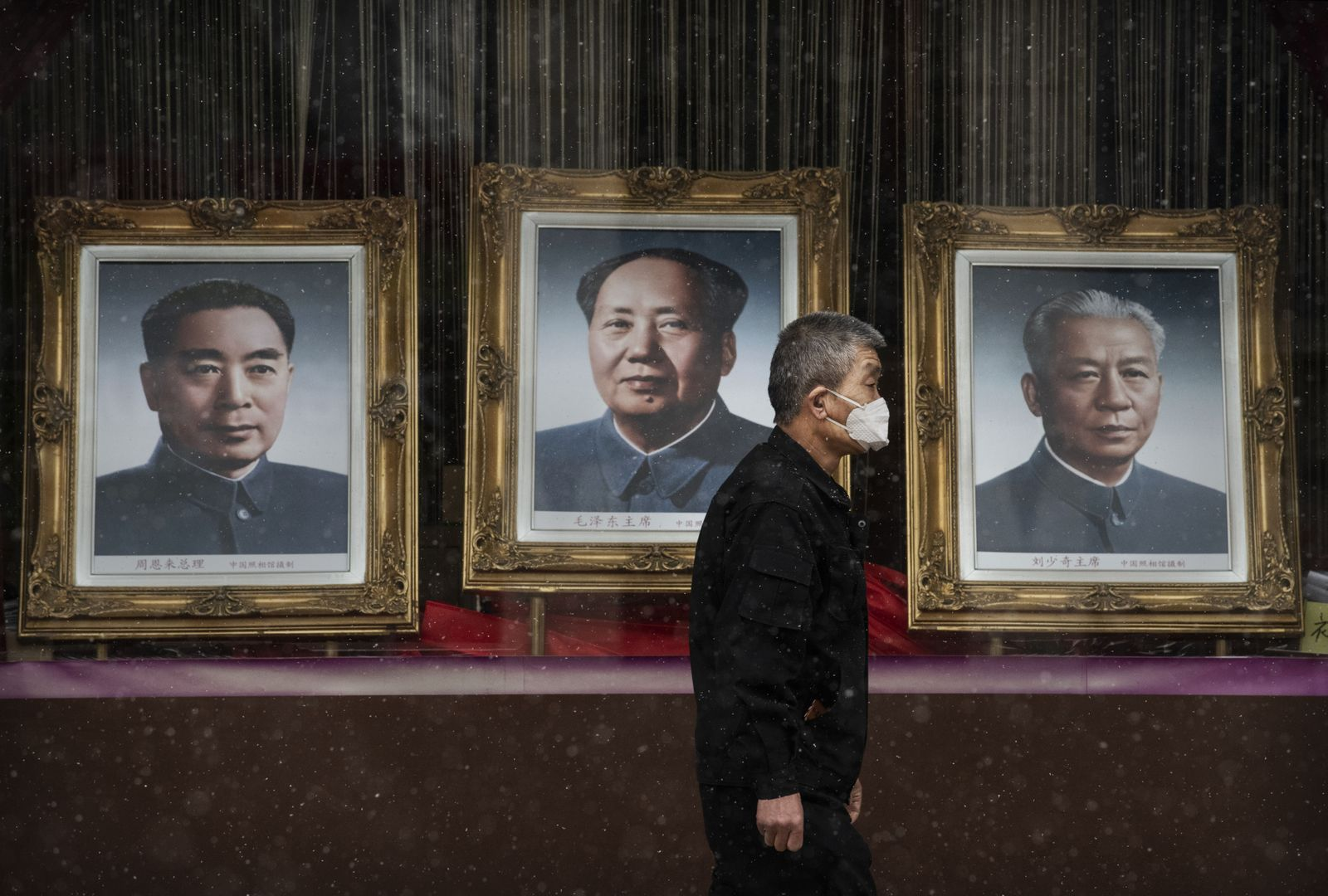 BESTPIX - Concern In China As Mystery Virus Spreads