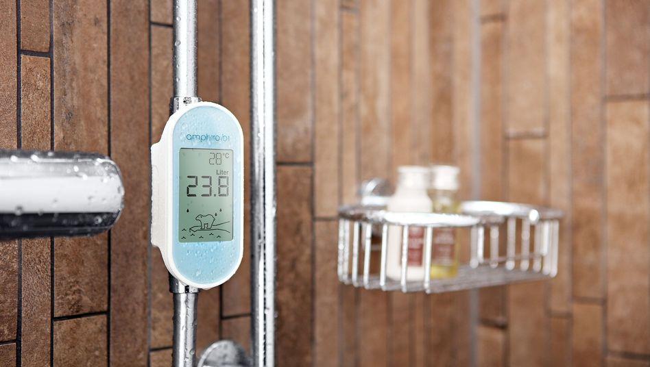 Anzeiger für Energie- und Wasserverbrauch