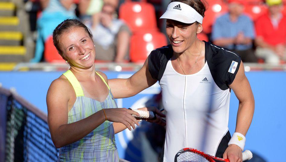 Tennisspielerinnen Beck und Petkovic in Nürnberg: Doch kein Aus?