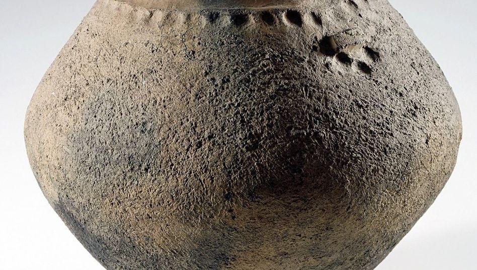 Urne aus der Jastorf-Zeit, etwa 5. Jahrhundert vor Christus (Braunschweigisches Landesmuseum)