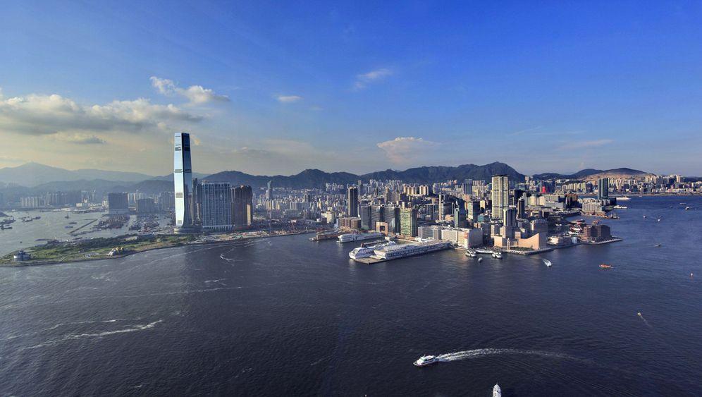 Fotostrecke: Hongkongs neue künstliche Insel