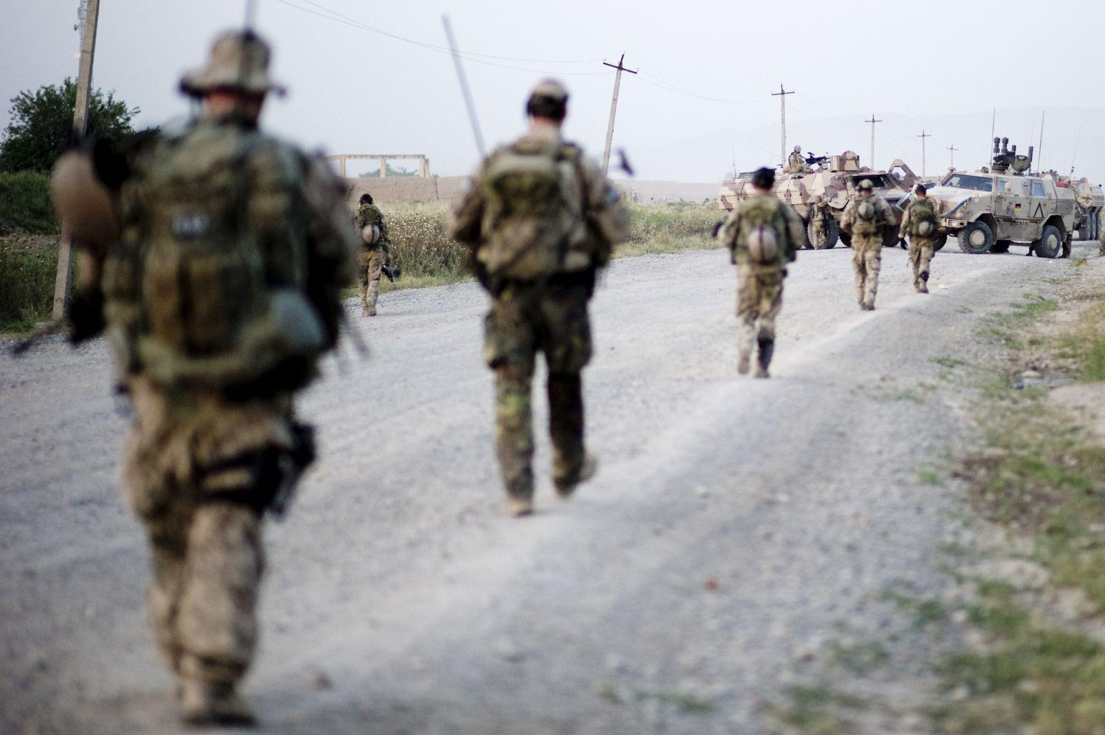 NICHT VERWENDEN Bundeswehr-Soldaten Kunduz