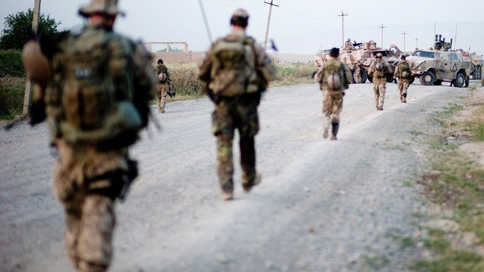 Bundeswehrsoldaten nahe Kunduz: Mit Panzerfäusten beschossen