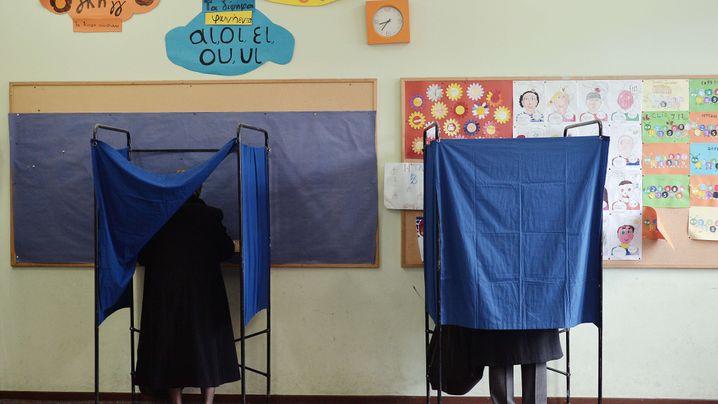 Neues Parlament: Richtungswahl für Griechenland