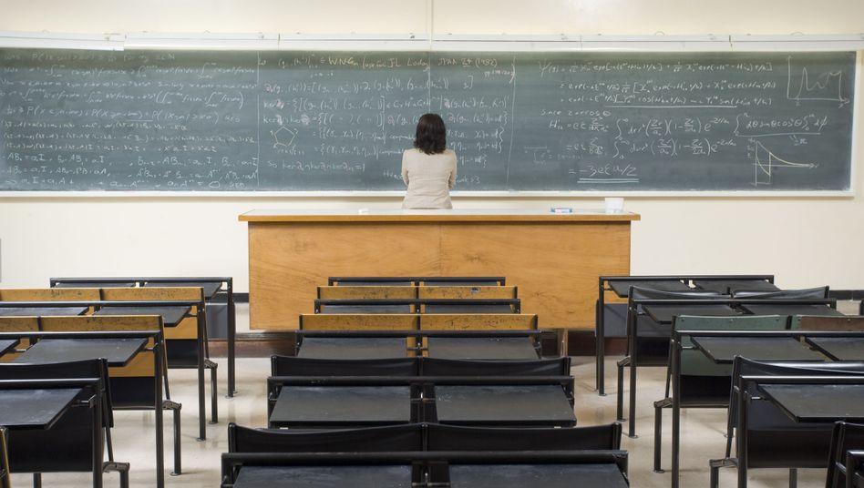 Professorinnen sind immer noch eine Minderheit an den Hochschulen: Nur jeder vierte Lehrstuhl gehört einer Frau