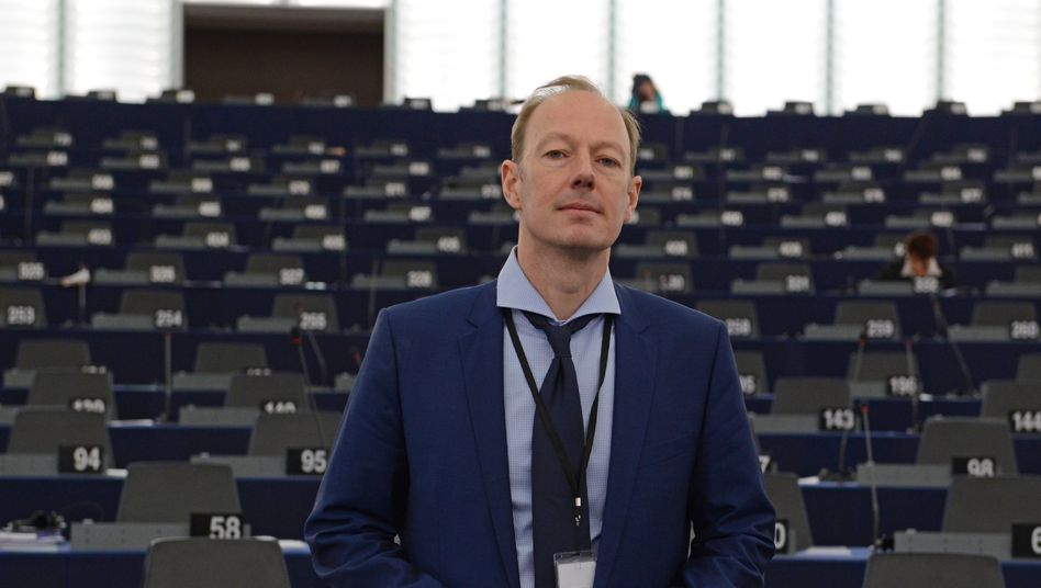 Martin Sonneborn im Europaparlament (Archivbild)