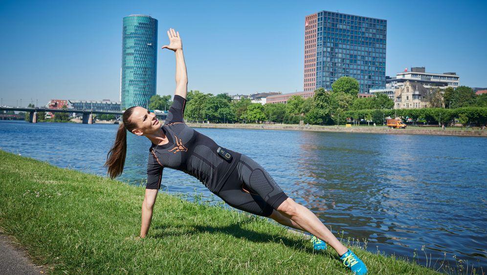 Trainingsanzug: Antelope stresst die Muskeln