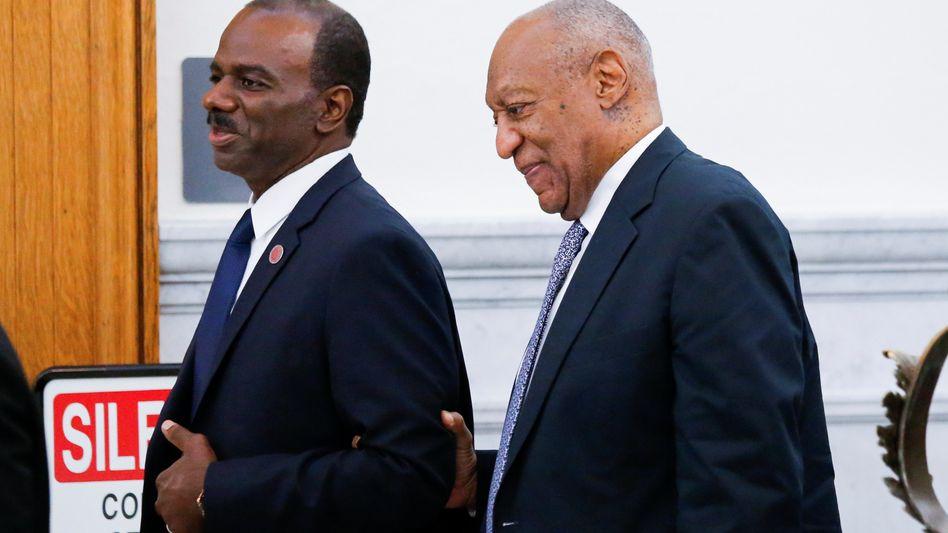 Bill Cosby (r.) mit Lewis Dix