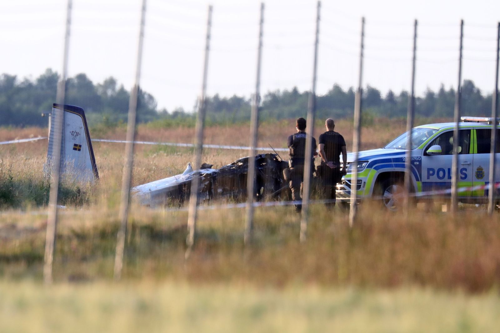 Small plane crashes near Orebro, Sweden
