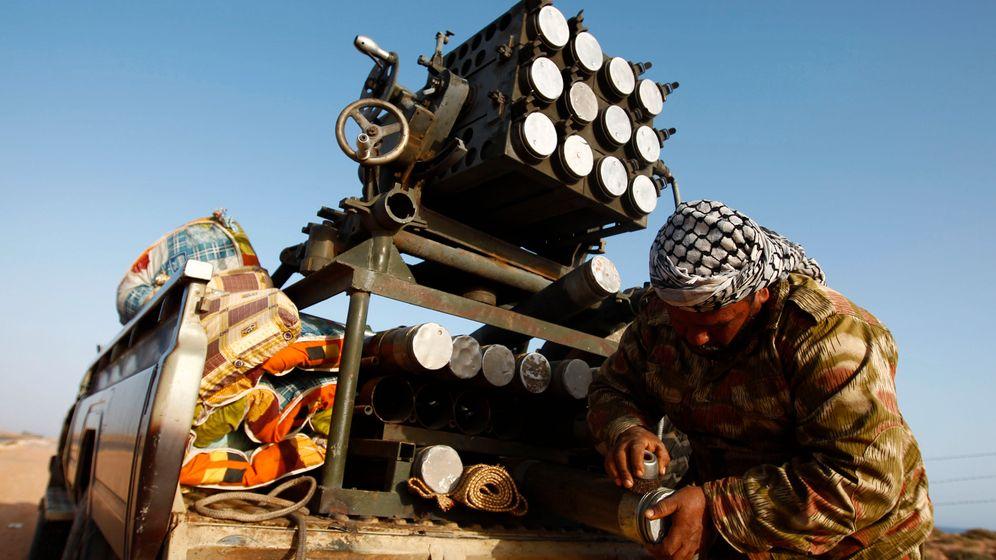 Krieg in Libyen: Gaddafis Truppen erstarken